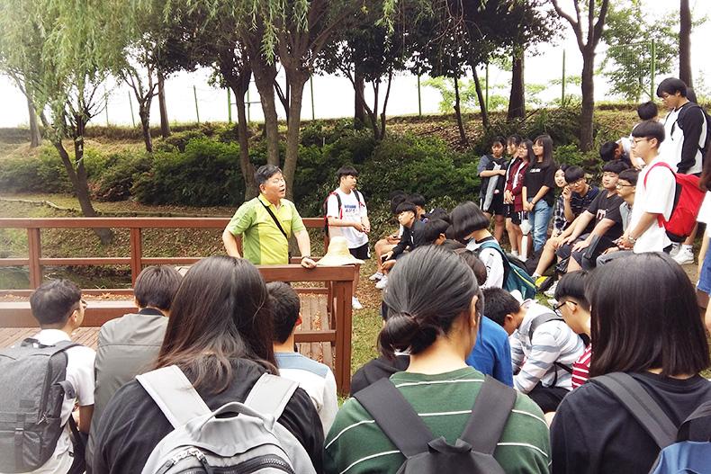 고룡이청소년봉사단 활동 사진