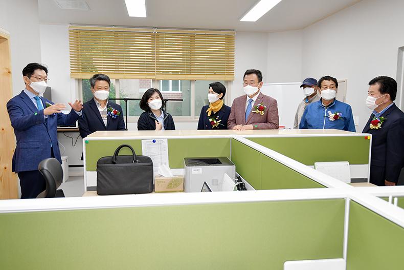 """""""우리는 섬으로 출근 한다""""통영 두미도, 전국 최초 섬택근무 시작2"""